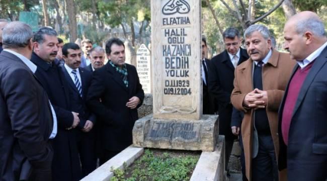Kazancı Bedih mezarı başında anıldı - Video Haber