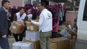 Öğrenciler Halep için yardım topladı
