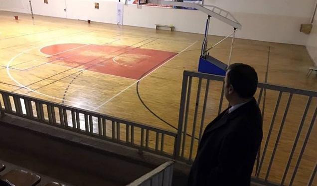 Perçi,Birecik Kapalı Spor Salonunu inceledi