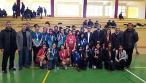 Şanlıurfa'da Badminton müsabakaları sona erdi