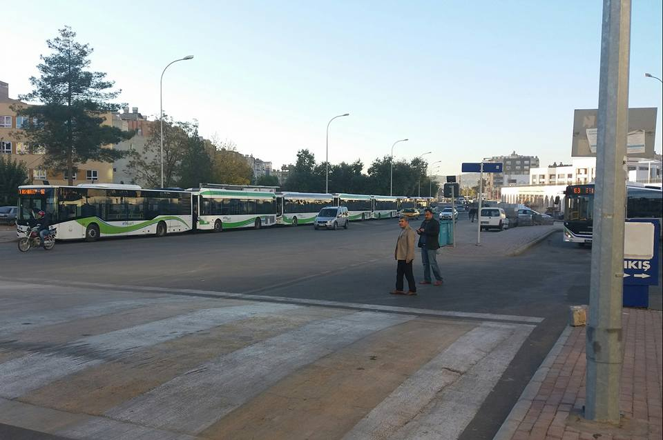 Şanlıurfa'da Bugün Otobüsler Ücretsiz