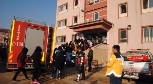 Şanlıurfa'da okulda yangın