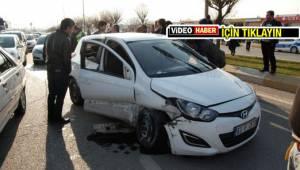Şanlıurfa'da otomobil yarışı kazayla bitti - Video Haber