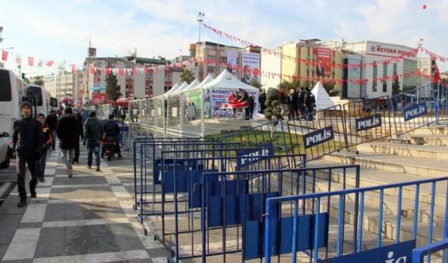 Urfa'da yoğun güvenlik önlemleri alındı