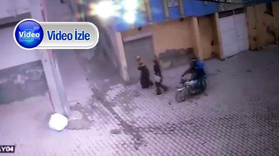 Şanlıurfa'daki kapkaç kamerada - VİDEO HABER