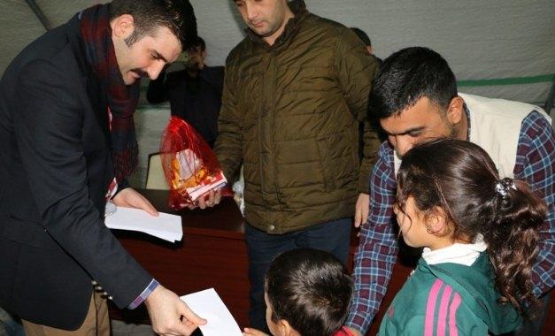 Şanlıurfa'daki Suriyelilere 380 Bin TL Yardım dağıtıldı