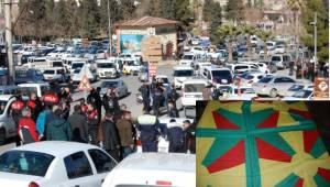 Şanlıurfa'da Düğün Konvoyuna PKK Müdahalesi