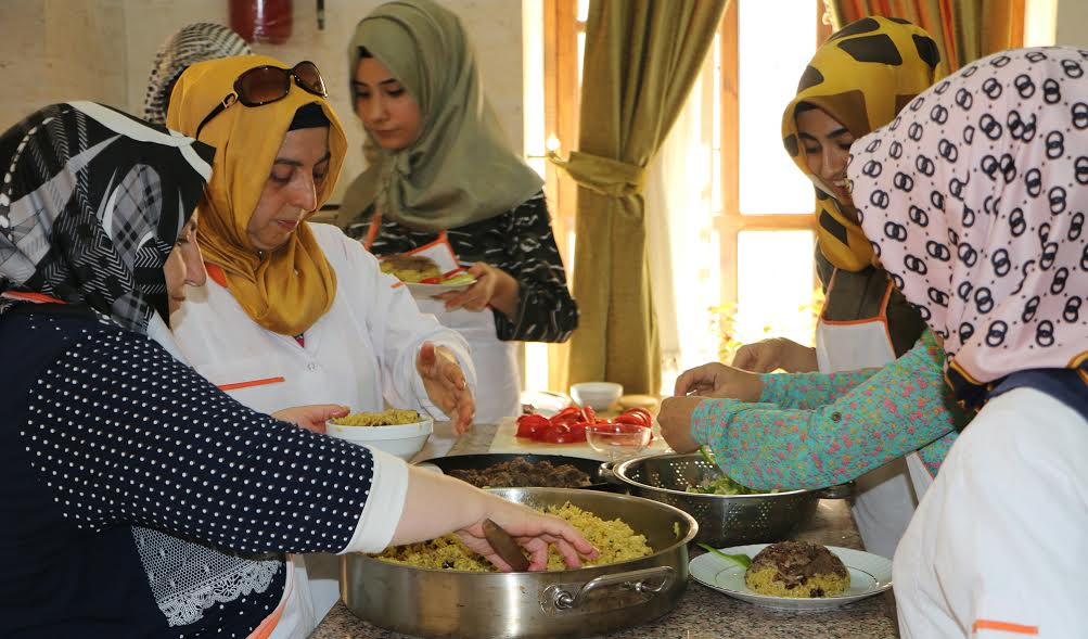 Şanlıurfa Mahalli Yemekler Kursu başlıyor (Video)