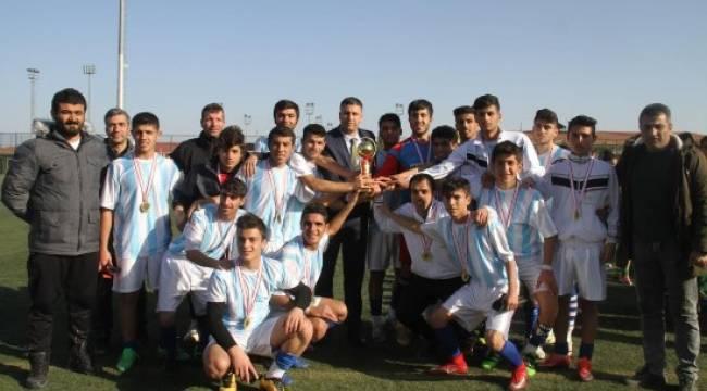 Şanlıurfa Spor Lisesi şampiyon oldu