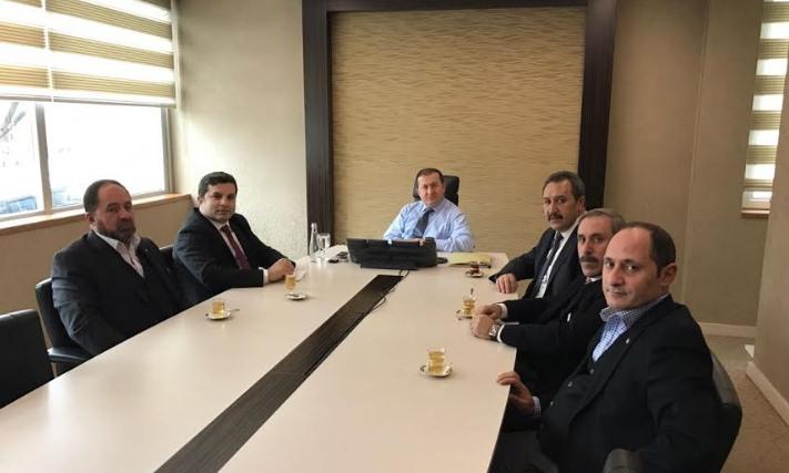 Şanlıurfa Ticaret Borsasından Kemaoğlu'na ziyaret