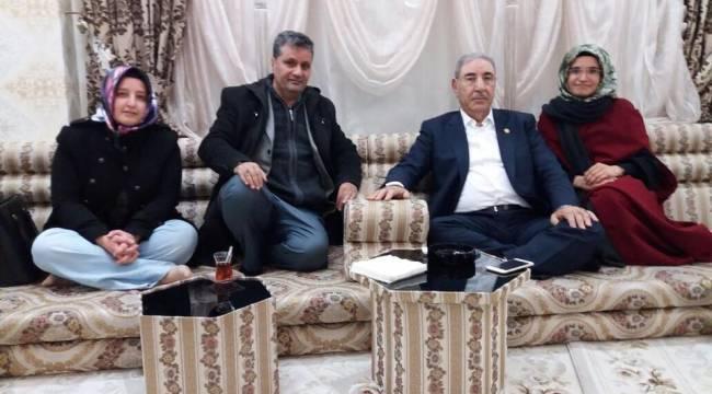 Şeyhanlı Derneği Seydi Eyyupoğlunu Ziyaret Etti