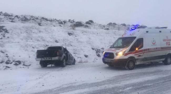 Siverek-Hilvan Yolunda kaza, 2 Yaralı