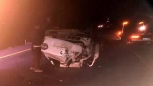 Siverek'te Feci kaza, 1 Ölü, 1 Yaralı