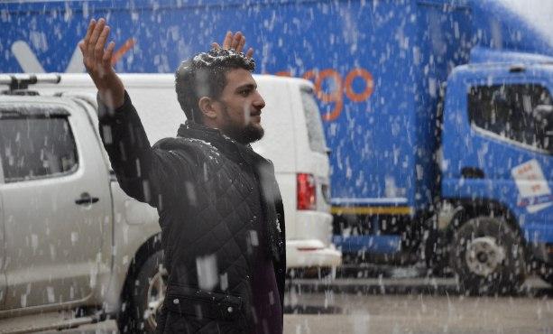 Siverek'te Yağan kar 50 mahalle yolunu kapattı