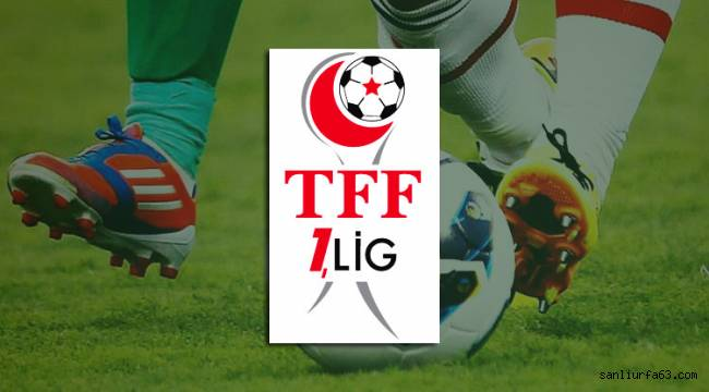 TFF 1.Lig 5 haftalık program açıklandı