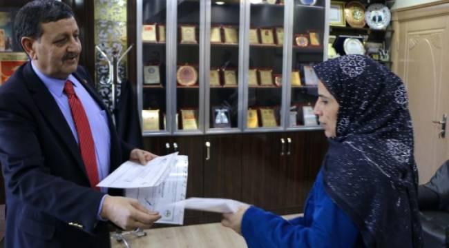 Urfa'da KOSGEB kursiyerleri sertifikalarını aldı