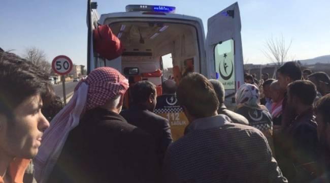 Urfa'da motosiklet kazası: 1 yaralı