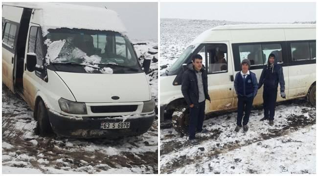 Urfa'da öğrenci servisi yoldan çıktı