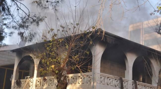 Urfa Halk Eğitim Merkezinde yangın
