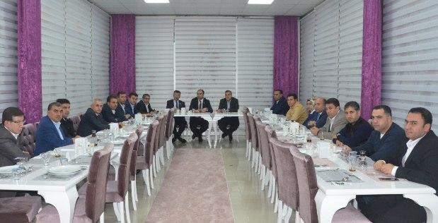Urfa'nın sorunları il yürütme kurulunda konuşuldu