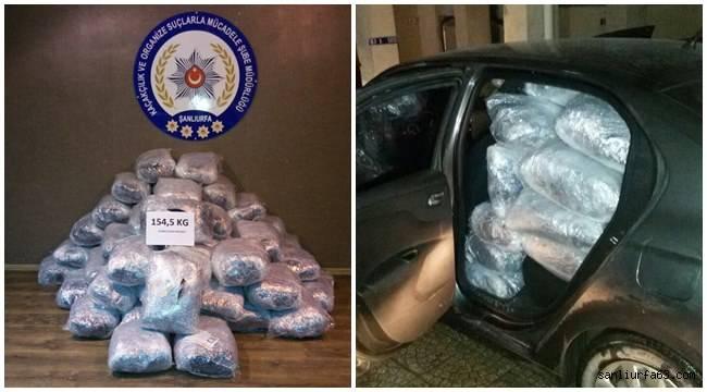 Urfa polisinden uyuşturucu tacirlerine darbe