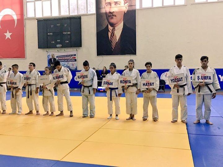 Urfalı Judocular Osmaniye'de yarıştı