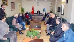 Viranşehir Belediye başkanı ilk toplantısını yaptı
