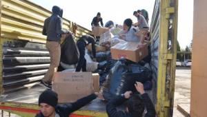 Viranşehir Kaymakamlığı'ndan Halep'e destek