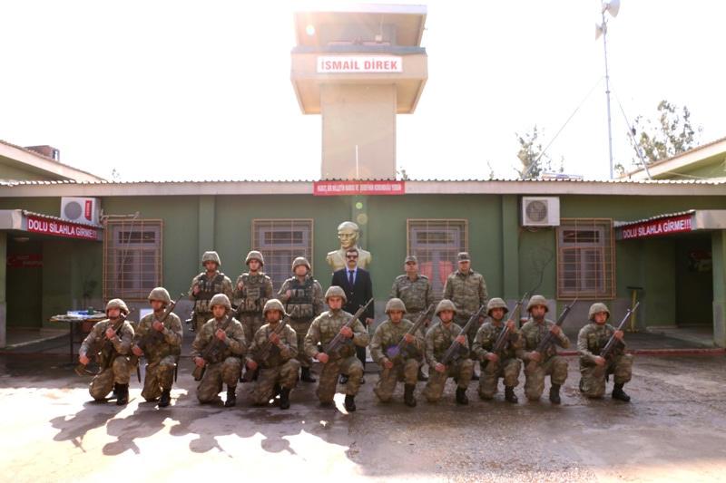 Yosunkaya , Hudut Karakolunu ziyaret etti
