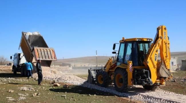 5 kırsal mahallede yol çalışması - Video Haber