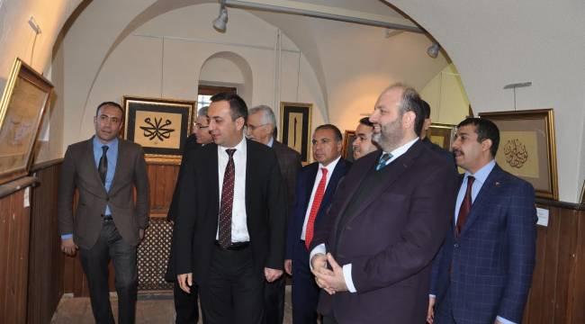 Abdulkadir Kuşkıran'ın sergisi açıldı
