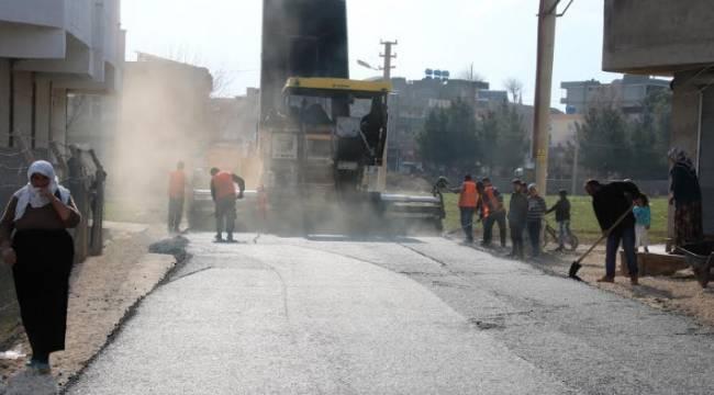Aligör'de asfalt çalışmaları başladı-Videolu Haber