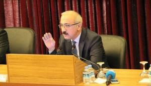 Bakan Elvan Cazibe Merkezi Projesini Şanlıurfa'da anlattı