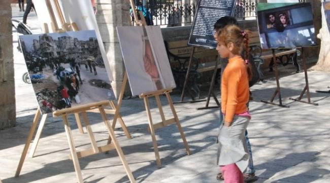Burası Halep fotoğraf sergisi sona erdi