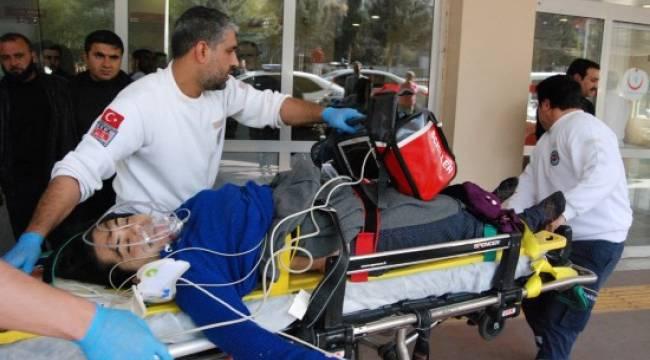 Çatısından düşen genç kız ağır yaralandı