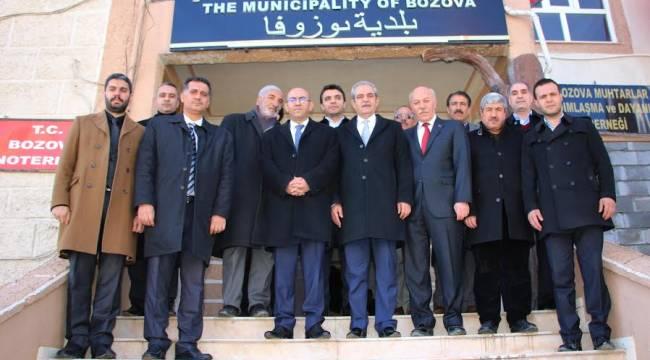 Demirkol, Bozova Kaymakamlığı ve Belediyesini ziyaret etti