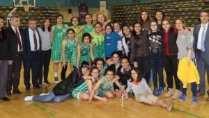 DSİ Spor Basketbolda şampiyon oldu