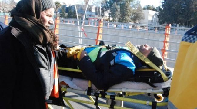 Duyarsız vatandaş işçiyi öldürüyordu