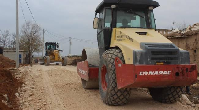 Eyyübiye'de Yol çalışmaları sürüyor-Videolu Haber