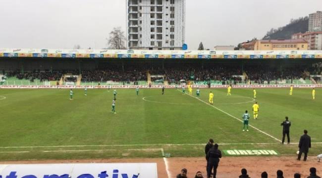 Giresunspor 3-Şanlıurfaspor 1