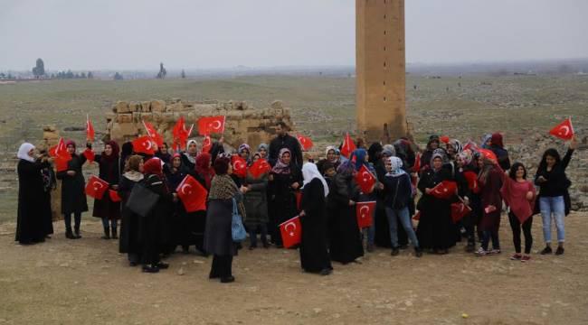 Haliliye Kadınlar Harran'ı gezdi-Videolu Haber