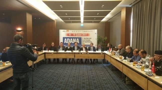 İnşaat sektörü Adana'da Buluşuyor