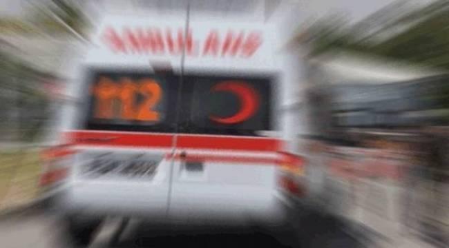 İşçi servisi ters şeride girdi 1 Ölü, 5 Yaralı