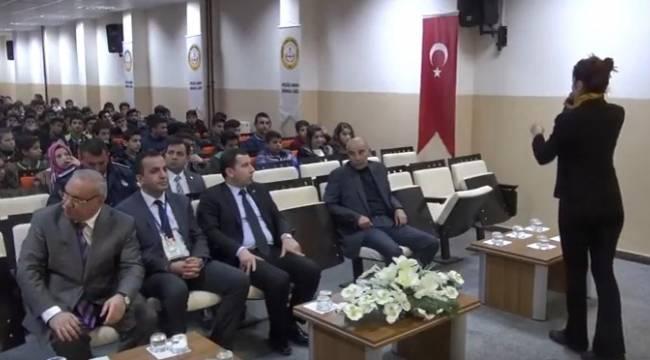 Karaköprü'de Madde Bağımlılığı semineri-Videolu Haber