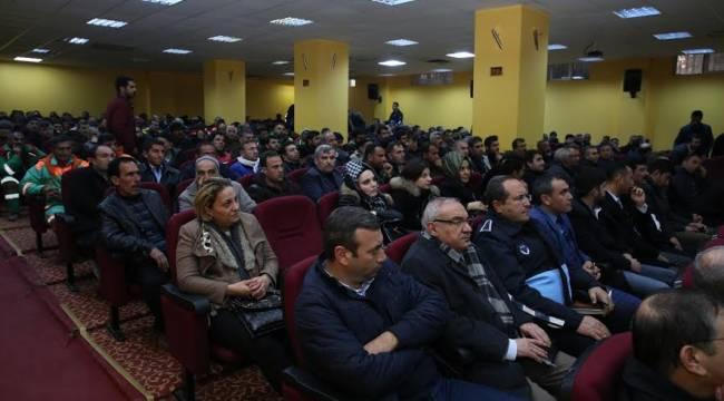 Karaköprü Personeline Öfke Kontrolü semineri verildi-Video