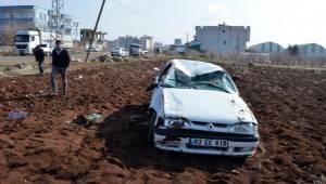 Şanlıurfa'da araç takla attı, 2 kişi yaralandı