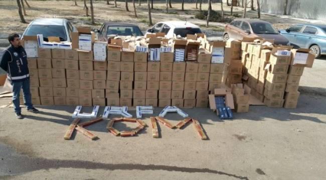 Şanlıurfa'da kaçakçılık operasyonu: 21 tutuklama