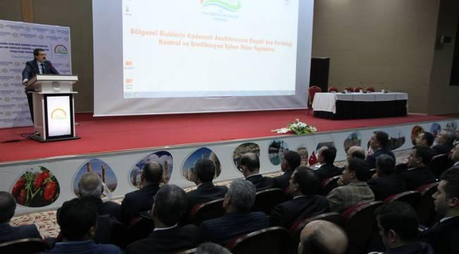 Şanlıurfa'da Şap hastalığı toplantısı