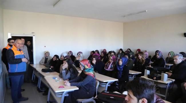 Şanlıurfalı Öğrencilere Afet Eğitimi-Videolu Haber