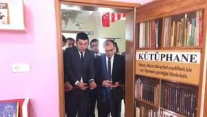 Şehit Ömer Halisdemir Kütüphanesi açıldı